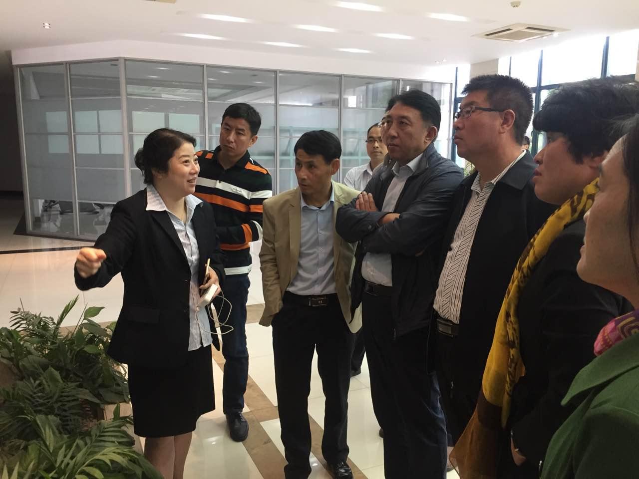 交易中心赴杭州粮油物流中心批发交易市场考察调研